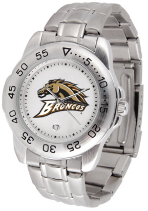 Western Michigan Broncos Sport Steel Band Men's Watch