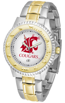 Washington State Cougars Competitor Two Tone Men's Watch