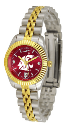 Washington State Cougars Ladies Executive AnoChrome Watch