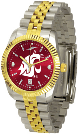 Washington State Cougars Executive AnoChrome Men's Watch