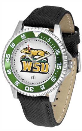 Wright State Raiders Competitor Men's Watch with Nylon / Leather Band