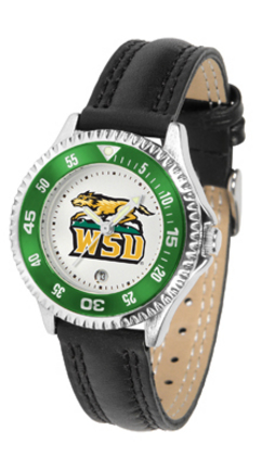 Wright State Raiders Competitor Ladies Watch with Leather Band