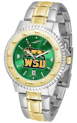 Wright State Raiders Competitor AnoChrome Two Tone Watch