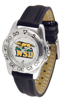 Wright State Raiders Ladies Sport Watch with Leather Band