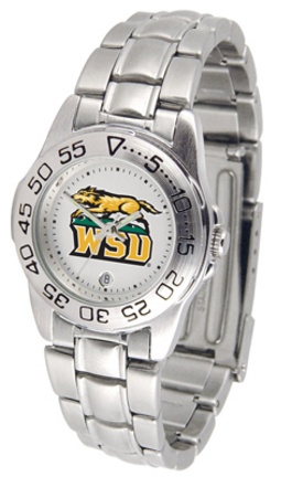 Wright State Raiders Ladies Sport Watch with Stainless Steel Band