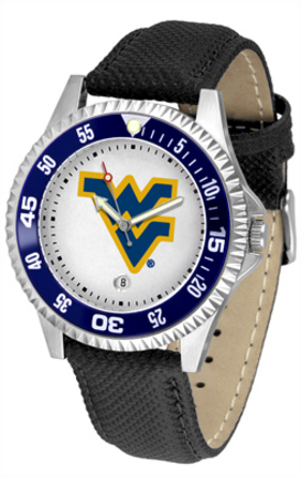 West Virginia Mountaineers Competitor Men's Watch by Suntime