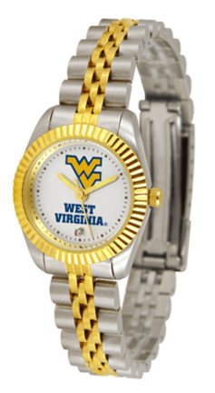 West Virginia Mountaineers Ladies' Executive Watch by Suntime