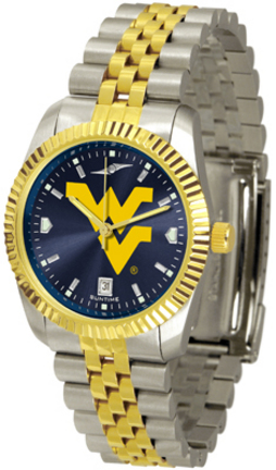 West Virginia Mountaineers Executive AnoChrome Men's Watch