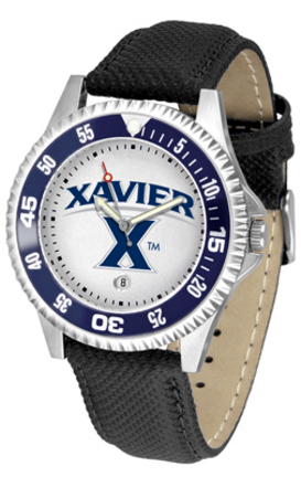 Xavier Musketeers Competitor Men's Watch by Suntime