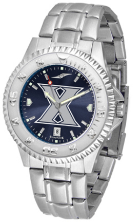 Xavier Musketeers Competitor AnoChrome Men's Watch with Steel Band