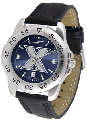 Xavier Musketeers Sport AnoChrome Men's Watch with Leather Band