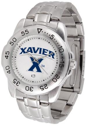 Xavier Musketeers Sport Steel Band Men's Watch
