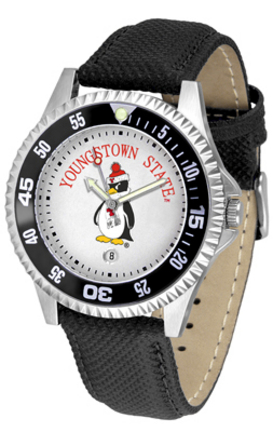 Youngstown State Penguins Competitor Men's Watch with Nylon / Leather Band