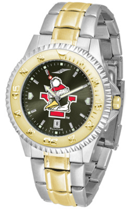 Youngstown State Penguins Competitor AnoChrome Two Tone Men's Watch