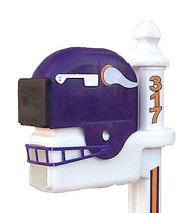 Minnesota Vikings Helmet Style Mailbox