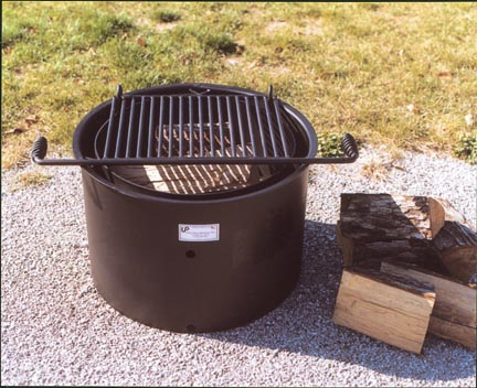 Handicap Accessible Fire Ring (300 Square Cooking Inches)