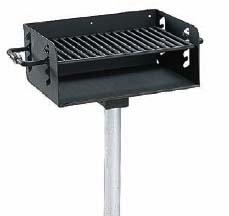 Pedestal Rotating Grill (280 Square Cooking Inches)
