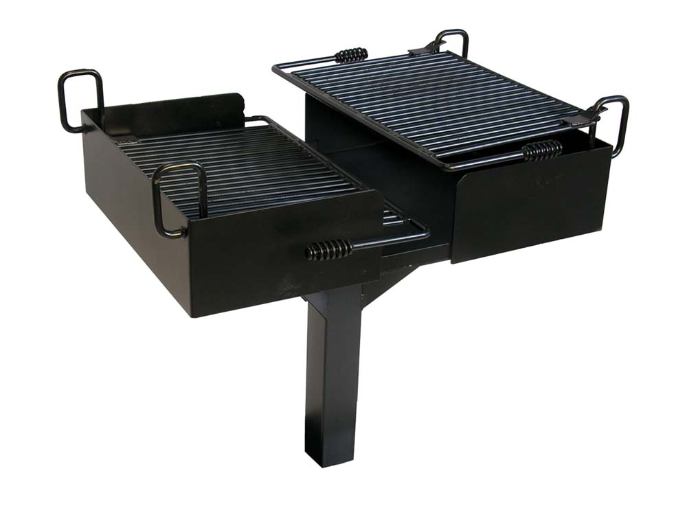 Dual Grate Cantilever Grill (1064 Square Cooking Inches)