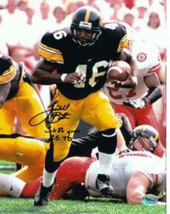 "Ladell Betts Autographed 8"" x 10"" vs. Nebraska Cornhuskers #4 Photograph (Unframed)"