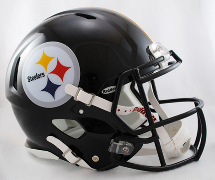 Pittsburgh Steelers NFL Authentic Speed Revolution Full Size Helmet from Riddell