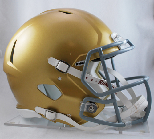 Notre Dame Fighting Irish NCAA Authentic Speed Revolution Full Size Football Helmet from Riddell