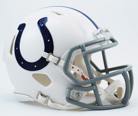 Indianapolis Colts NFL Riddell Replica Speed Mini Football Helmet VC-3001960