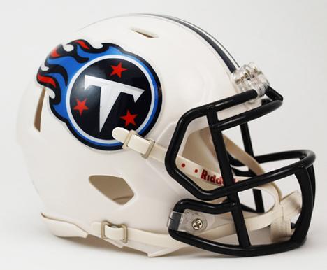 Tennessee Titans NFL Riddell Replica Speed Mini Football Helmet VC-3001977