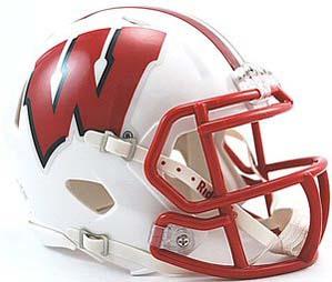 Wisconsin Badgers NCAA Riddell Replica Speed Mini Football Helmet