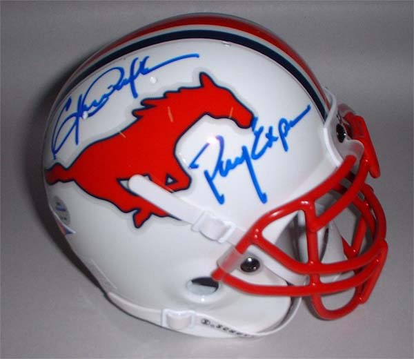 brand new a34bd bd84f Southern Methodist Helmet, Southern Methodist Mustangs ...