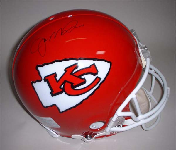 Joe Montana Autographed Kansas City Chiefs Riddell Full Size Authentic Helmet