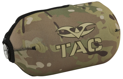Valken 68ci V-Tac Bottle Cover (Fits 62, 68, 70, 88 and 90 cubic inch Paintball Compressed Air Tanks)