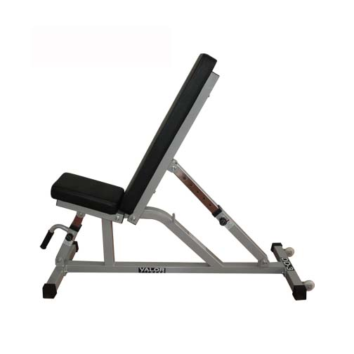 DD-21 Incline / Flat Utility Bench with Wheels from Valor Athletics