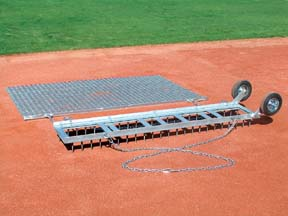 Diamond Digger and Drag Mat Field Groomer Combo