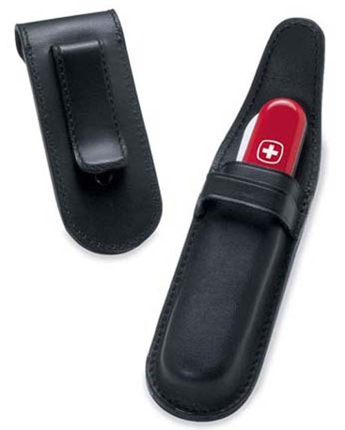 Luxury Leather Pouch for Full Size Swiss Army Knives™ from Wenger®