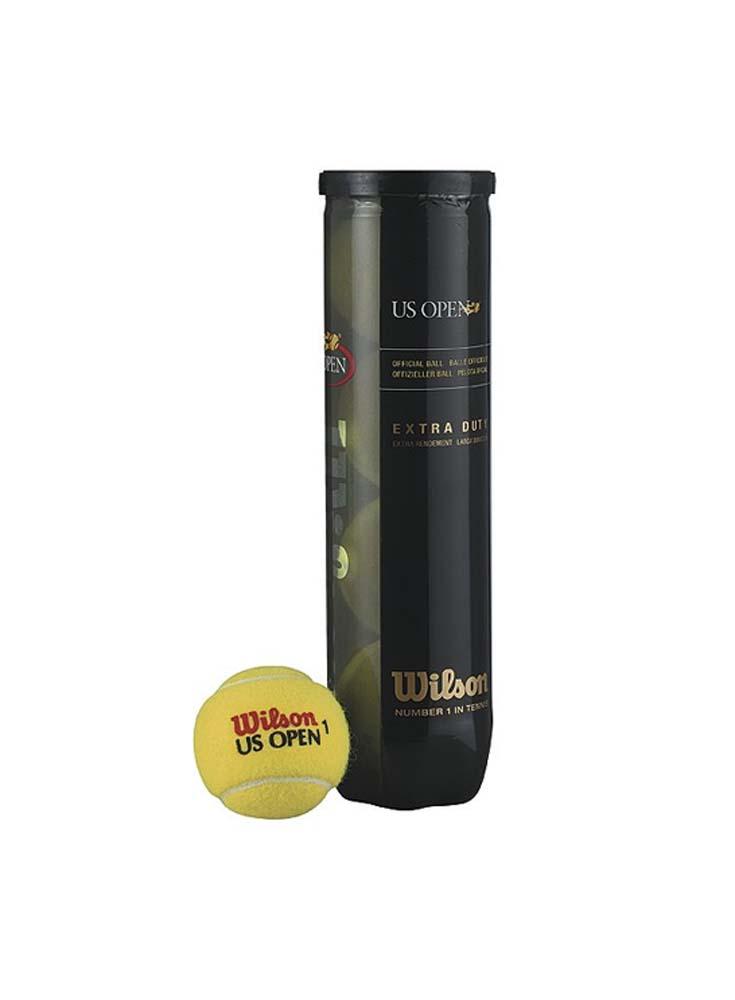 "Wilson U.S. Open ""Extra Duty"" Tennis Balls - (1 Dozen Cans)"