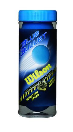 Wilson Blue Bullet™  Racquetballs - (Set of 6 Cans)