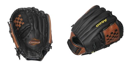 """Image of 12 1/2"""" A500™ Advantage Closed 2-Piece Cat Web All Positions Fast Pitch Softball Glove from Wilson (Worn on the Right Hand)"""
