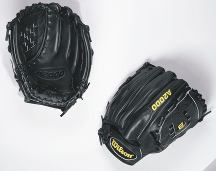 """Image of 12"""" A2000 Series Pitcher's Baseball Glove from Wilson - (Worn on Left Hand)"""