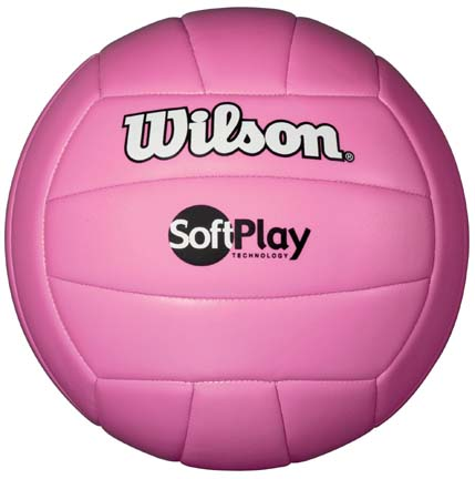 Wilson Soft Play Volleyball (Pink)