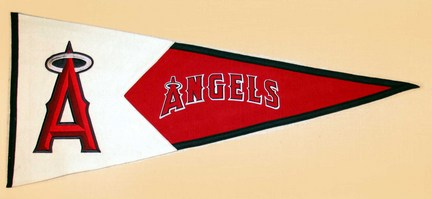 Los Angeles Angels of Anaheim MLB Classic Collection Pennant from Winning Streak Sports
