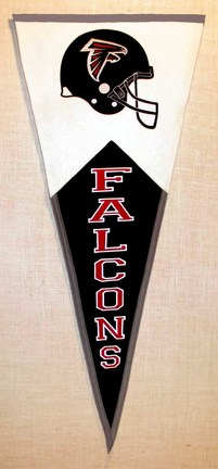 Atlanta Falcons NFL Classic Collection Pennant from Winning Streak Sports