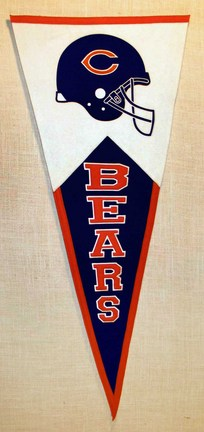 Chicago Bears NFL Classic Collection Pennant from Winning Streak Sports