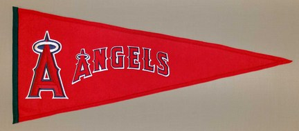 Los Angeles Angels of Anaheim MLB Traditions Collection Pennant from Winning Streak Sports