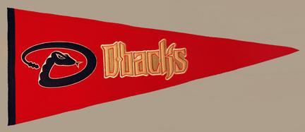 Arizona Diamondbacks MLB Traditions Collection Pennant from Winning Streak Sports