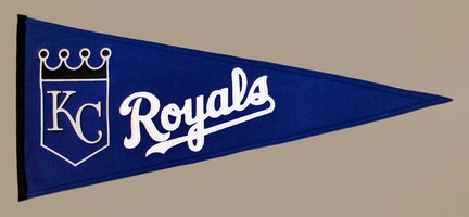 Kansas City Royals MLB Traditions Collection Pennant from Winning Streak Sports
