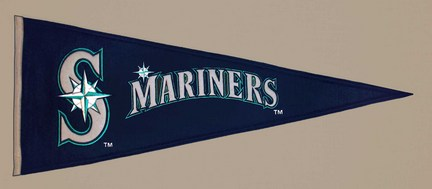 Seattle Mariners MLB Traditions Collection Pennant from Winning Streak Sports