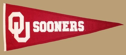 Oklahoma Sooners NCAA Traditions Collection Pennant from Winning Streak Sports