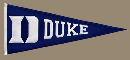 Duke Blue Devils NCAA Traditions Collection Pennant from Winning Streak Sports