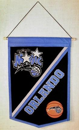"Orlando Magic 12"" x 18"" NBA Traditions Banner from Winning Streak Sports"