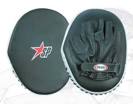 Blacko Open Finger Coaching Mitt from Starpak